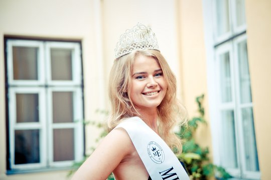 Miss Estonia or Miss Eesti 2012 winner Katlin Valdmets