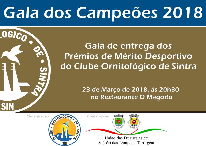 Gala dos Campeões 2018