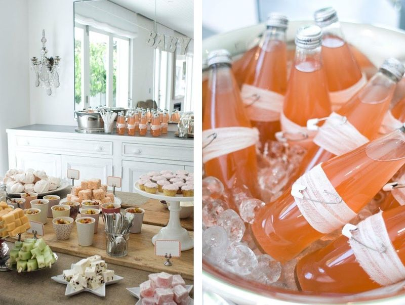 I Heart Pears: Baby shower drink ideas
