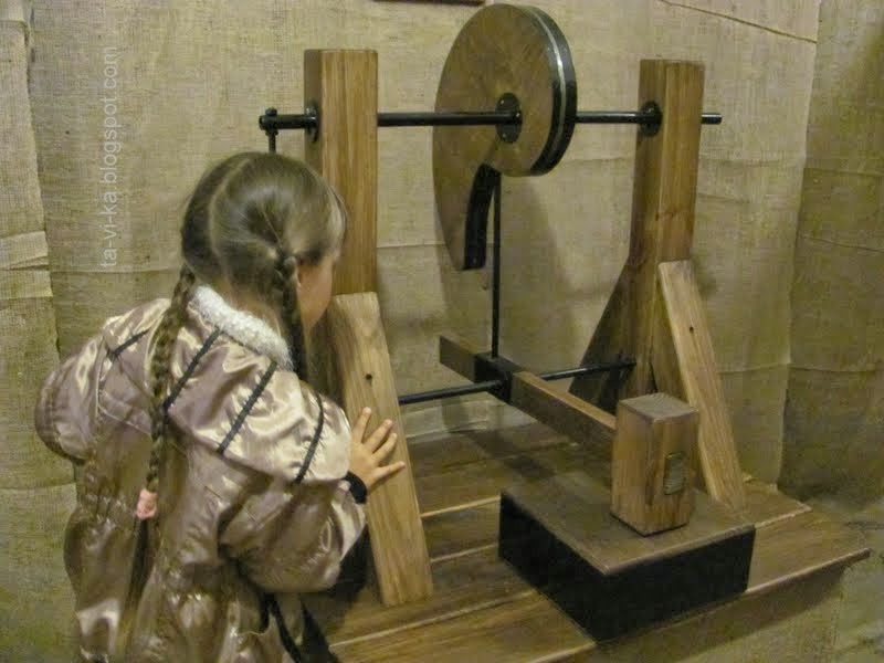Выставка механика Леонардо да Винчи
