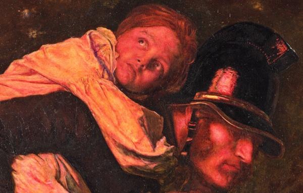 """""""THE RESCUE"""" - 1855"""