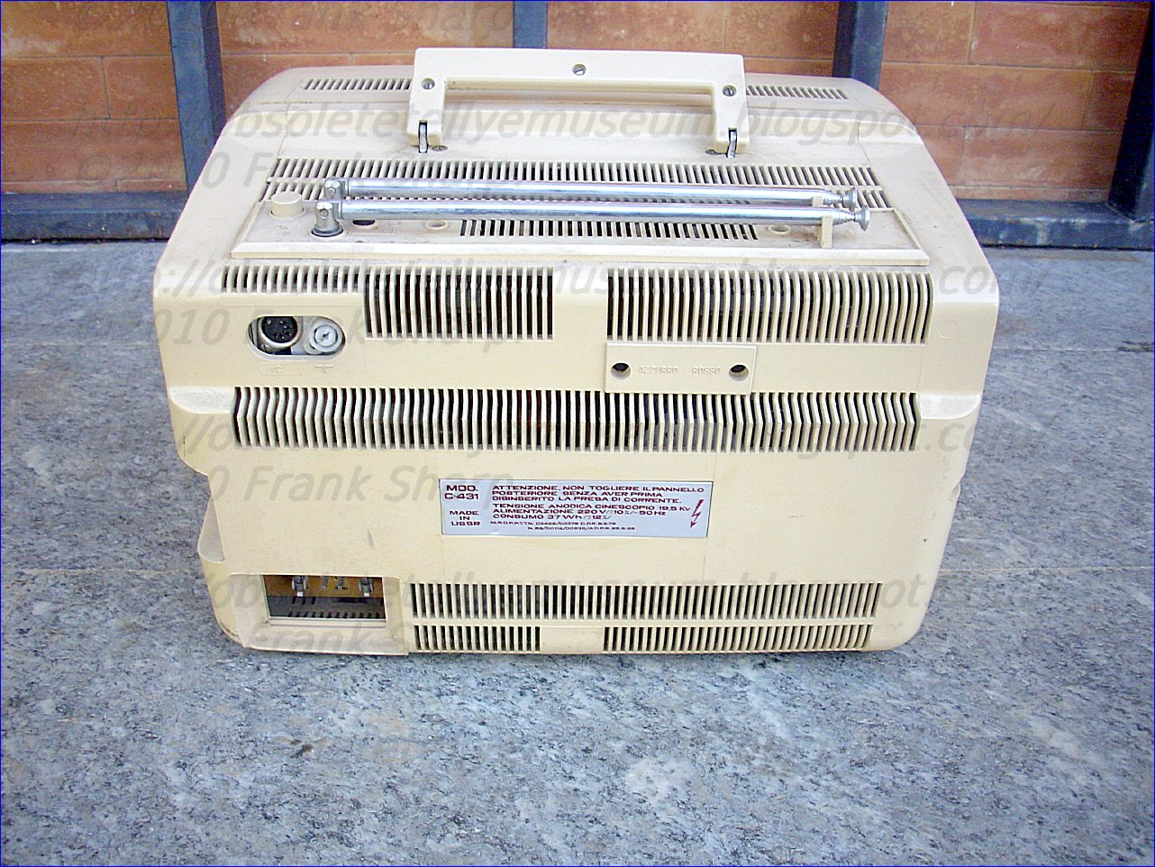 Obsolete Technology Tellye !: HYPER ELECTRONIC MOD. 431 YEAR 1986.