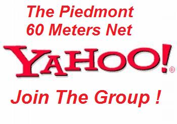 The Piedmont 60 Meters Yahoo Group