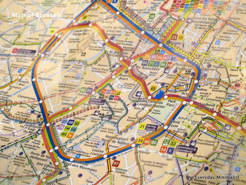 Map of cities Map of Brussels Belgium – Maps Brussel