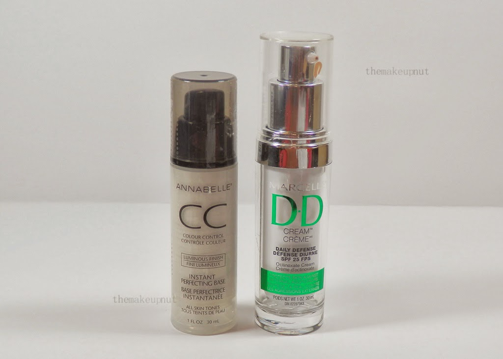Annabelle CC Cream Luminous Finish | Marcelle DD Cream