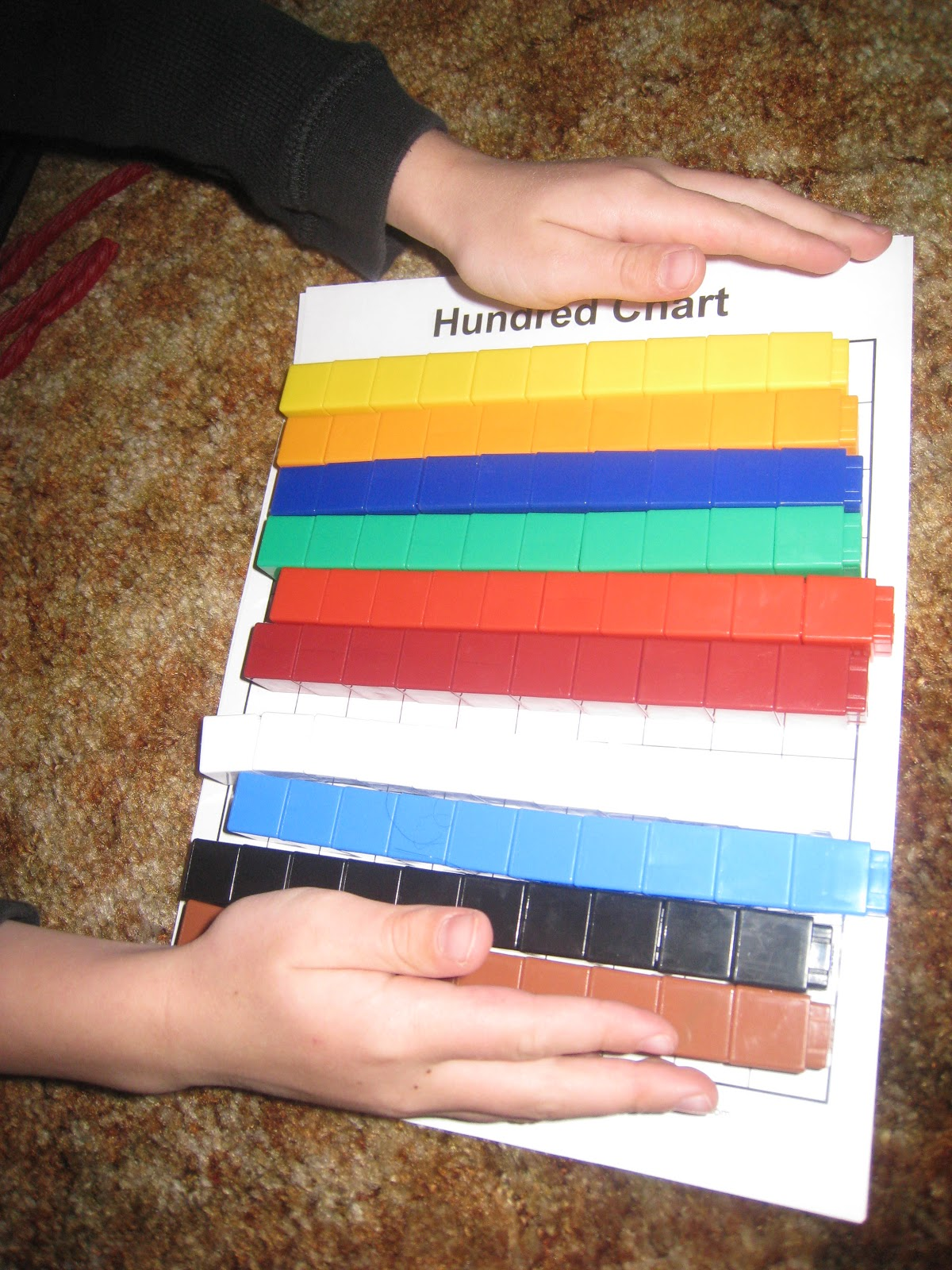 Hundred charts and math cubes teach beside me then nvjuhfo Images