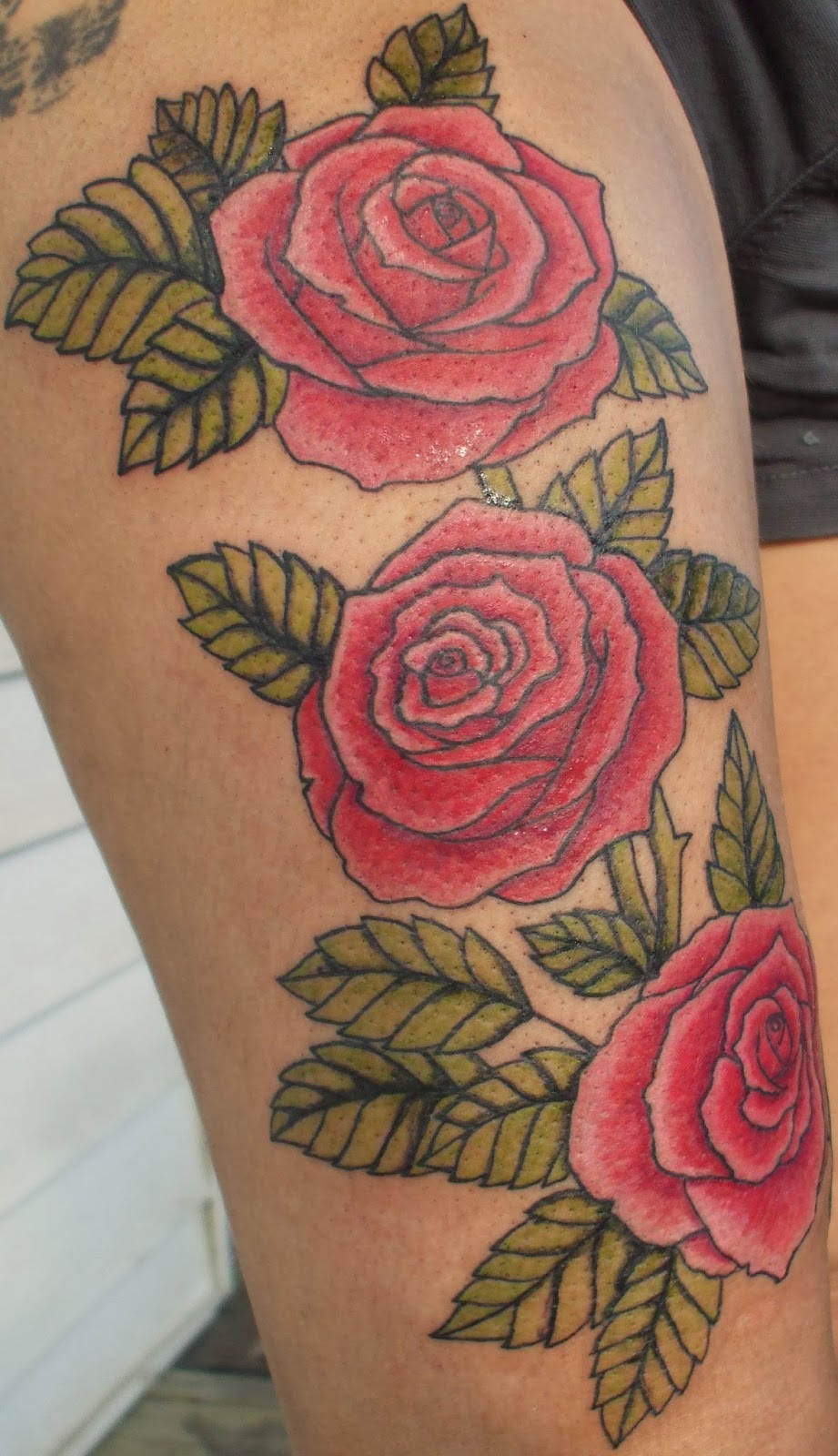 Carole duchesneau artiste tatouage fleurs papillons - Fleur tatouage dessin ...