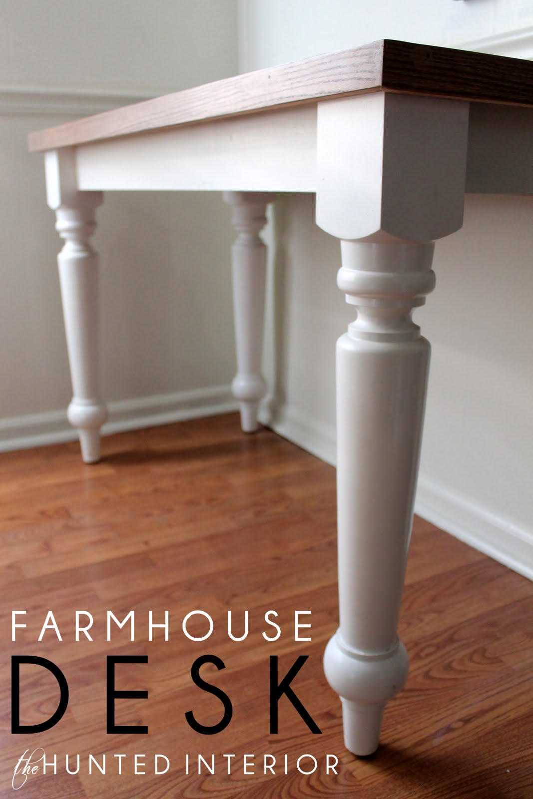diy farmhouse desk