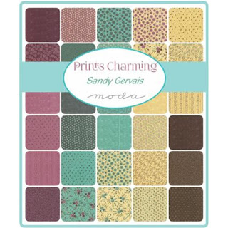 Moda Prints Charming Fabric by Sandy Gervais for Moda Fabrics