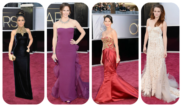 Oscars 2013 Worst Dressed: Salma Hayek, Jennifer Garner, Oliva Munn and Kristen Stewart