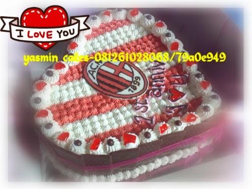 Cake tema AC Milan FC
