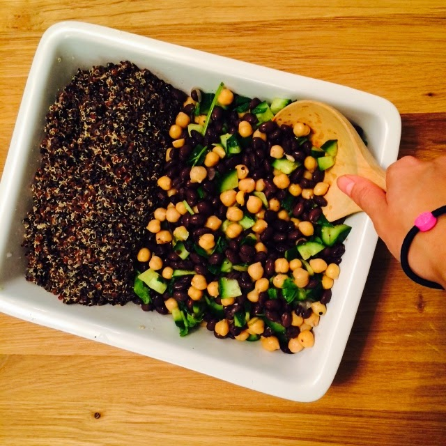 Beans and Quinoa Salad Recipe