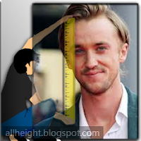 What is Tom Felton's height?