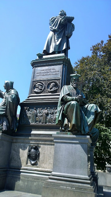 Martin Luther Denkmal, Worms, Deutschland