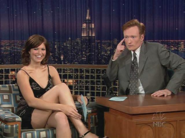 Mandy Moore - Late Night w/Conan 7/17/2003