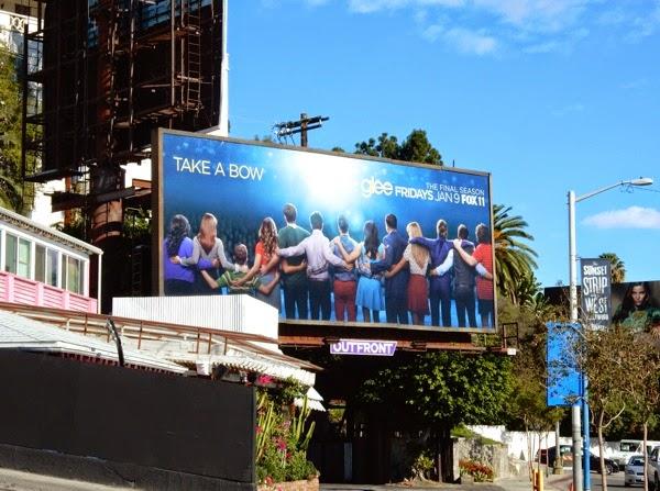 Glee final season 6 billboard