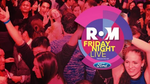 ROM Friday Night Live Promotional Poster