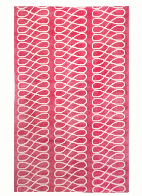 COCOCOZY loop rug pink capel flooring decor decoration home interior design floor covering carpet rugs