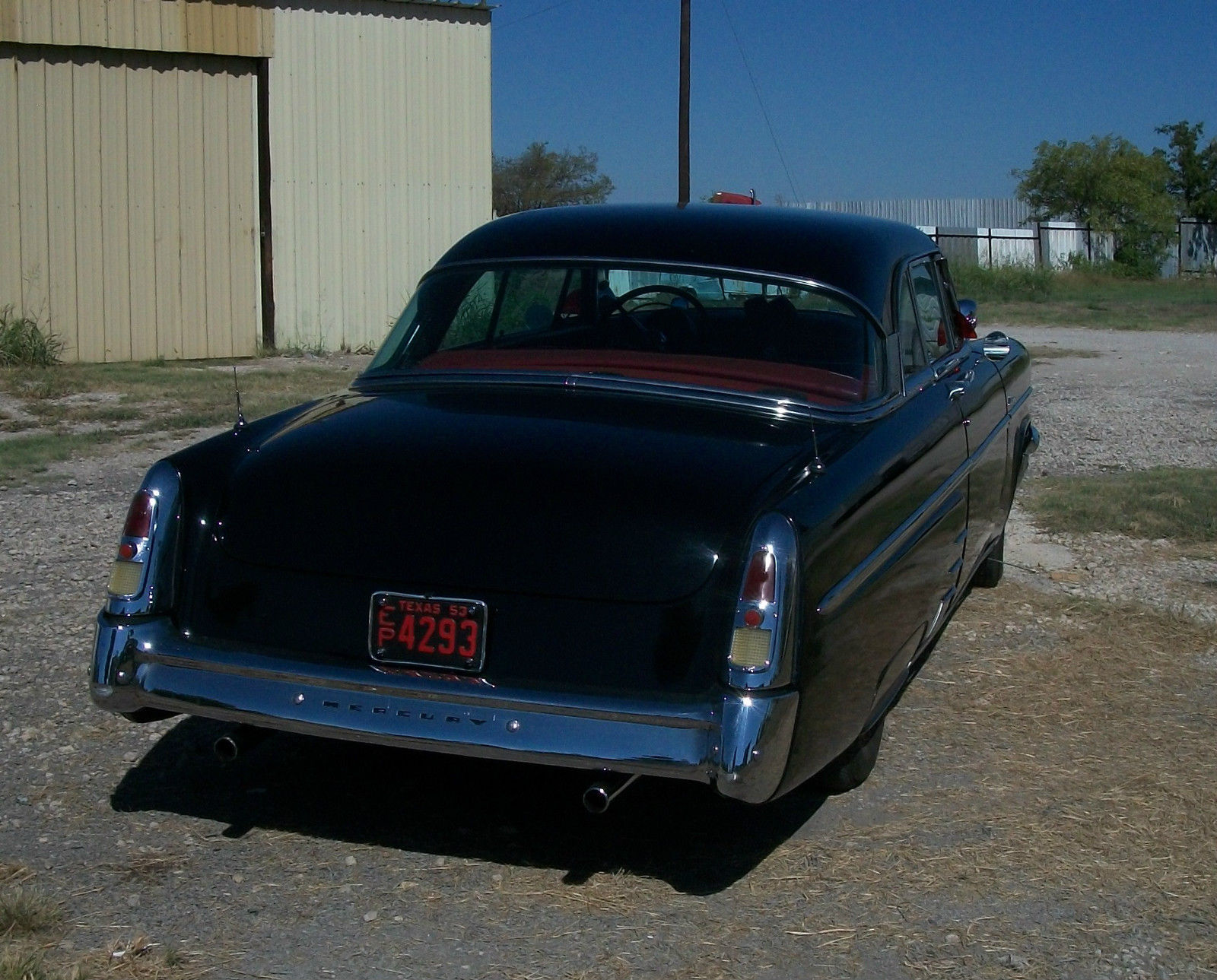 All american classic cars 1953 mercury monterey 2 door for 1955 mercury monterey 2 door hardtop