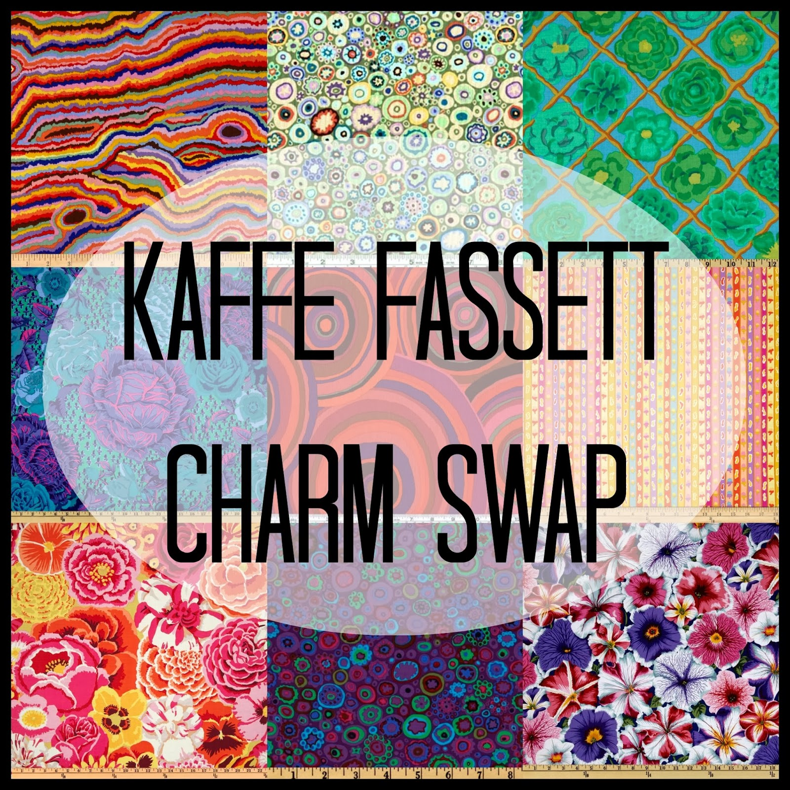Kaffe Fassett Charm Swap