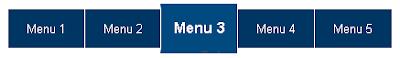 Tạo Menu ngang cho blogspot và CSS menu liDock