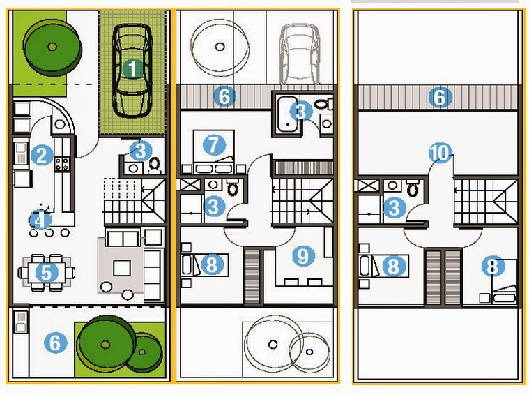 Planos Casas Modernas Abril 2014