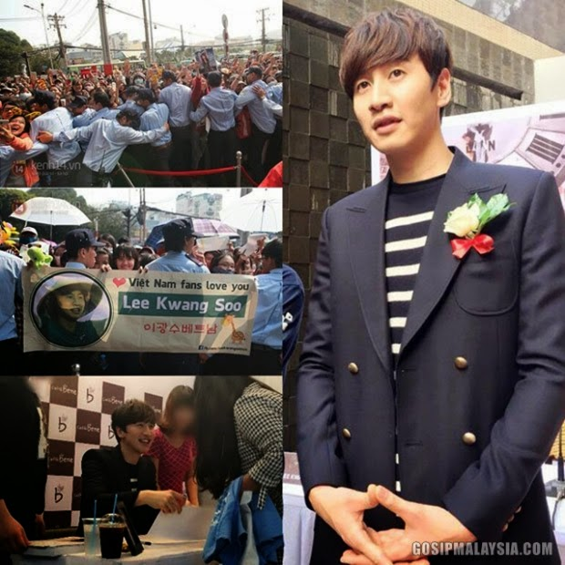 Lee Kwang Soo Punca Bandar Vietnam Sesak!, info, terkini, hiburan, sensasi, Artis Korea, Lee Kwang Soo, Teraju Utama Running man