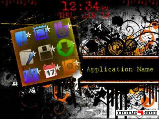 1279524146 Distortion   Blackberry curve 8300 themes