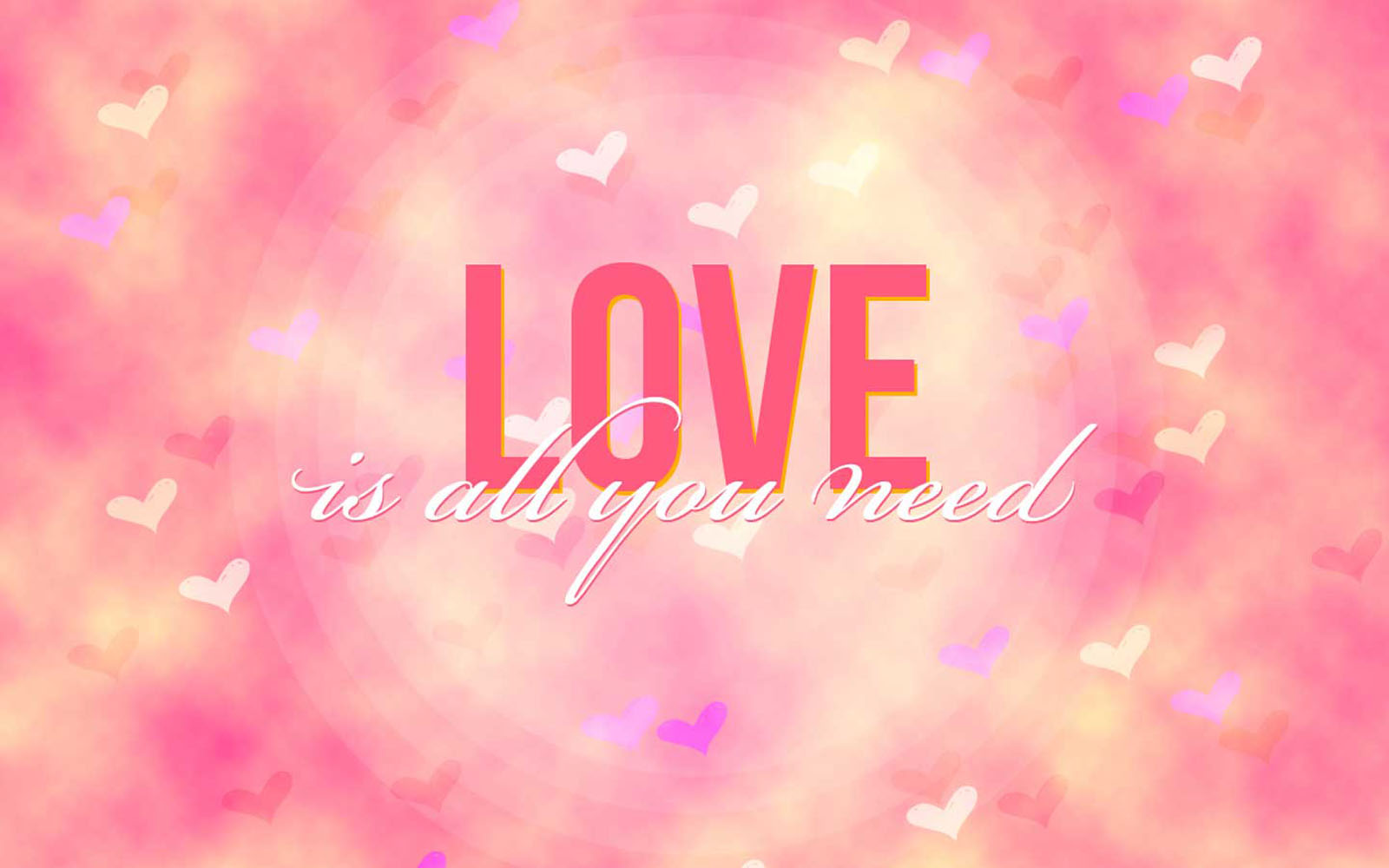 Wallpaper All My Love Is For You : wallpaper: All You Need Is Love Wallpapers