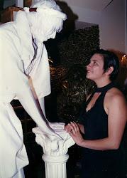 Estátua viva de POA