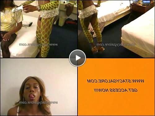 ebony swallows ts video video