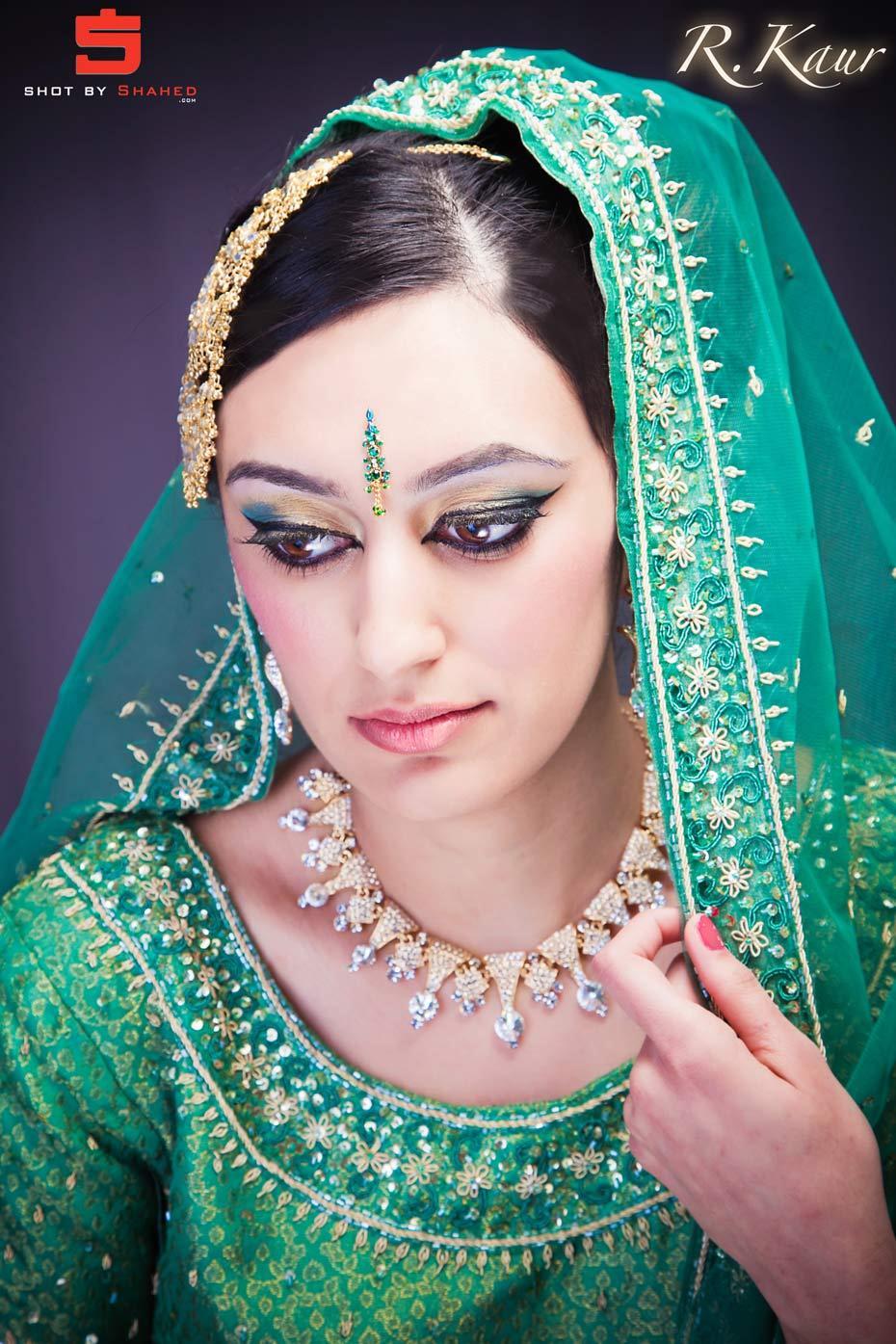 tomcatwallpapers arabic bridal dramatic green makeup