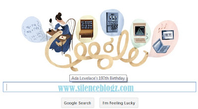 Ada Lovelace 197th birthday in google Doodle