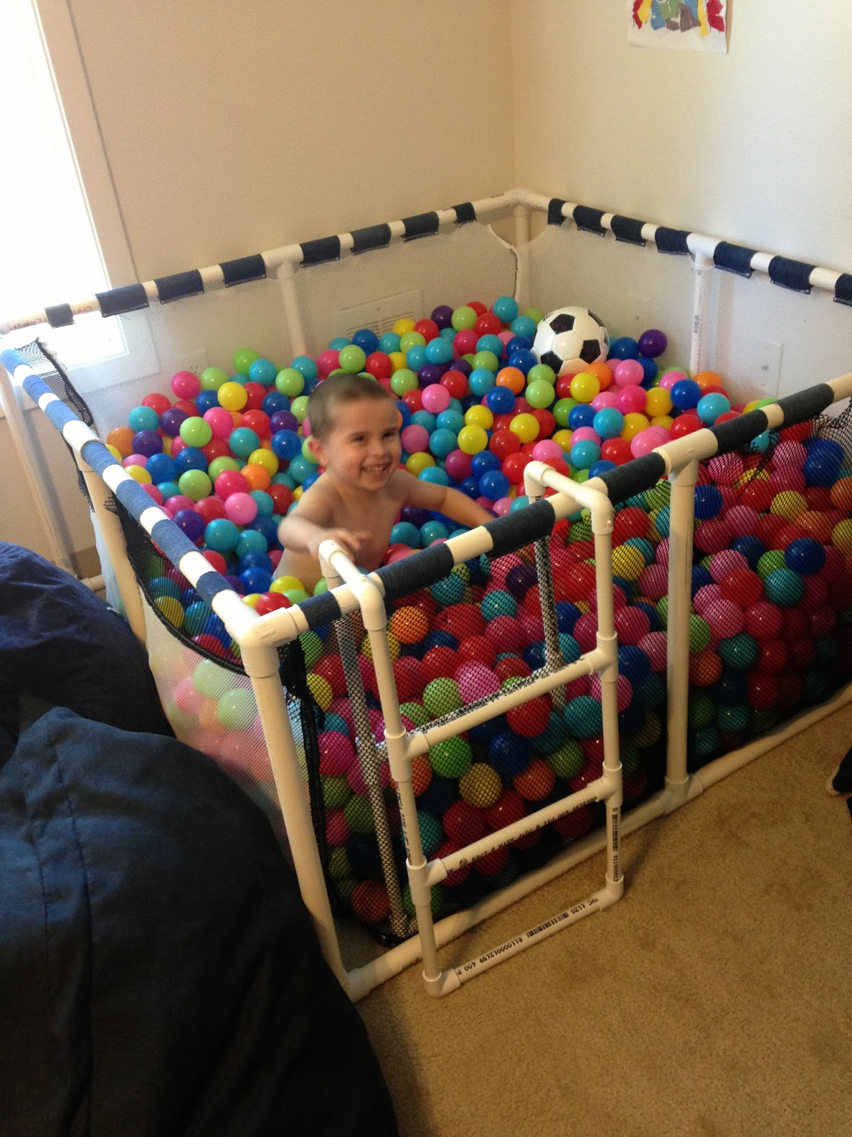 cup of autism ball pit fun. Black Bedroom Furniture Sets. Home Design Ideas