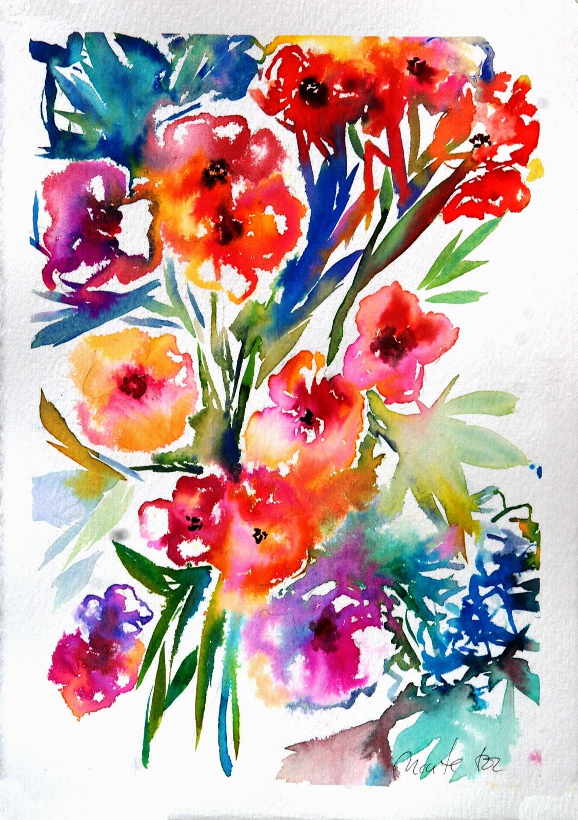 Aquarel·la sobre paper. 35 x 50 cm - Maite Tor