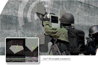 Система видения сквозь стены от компании Camero Xaver 800