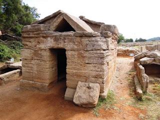 Populonia, Gulf of Baratti, Tuscany, Etruscan tomb