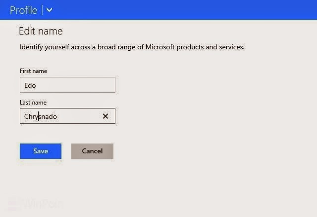 Tips Mengganti Nama Akun Microsoft Pada Windows 8