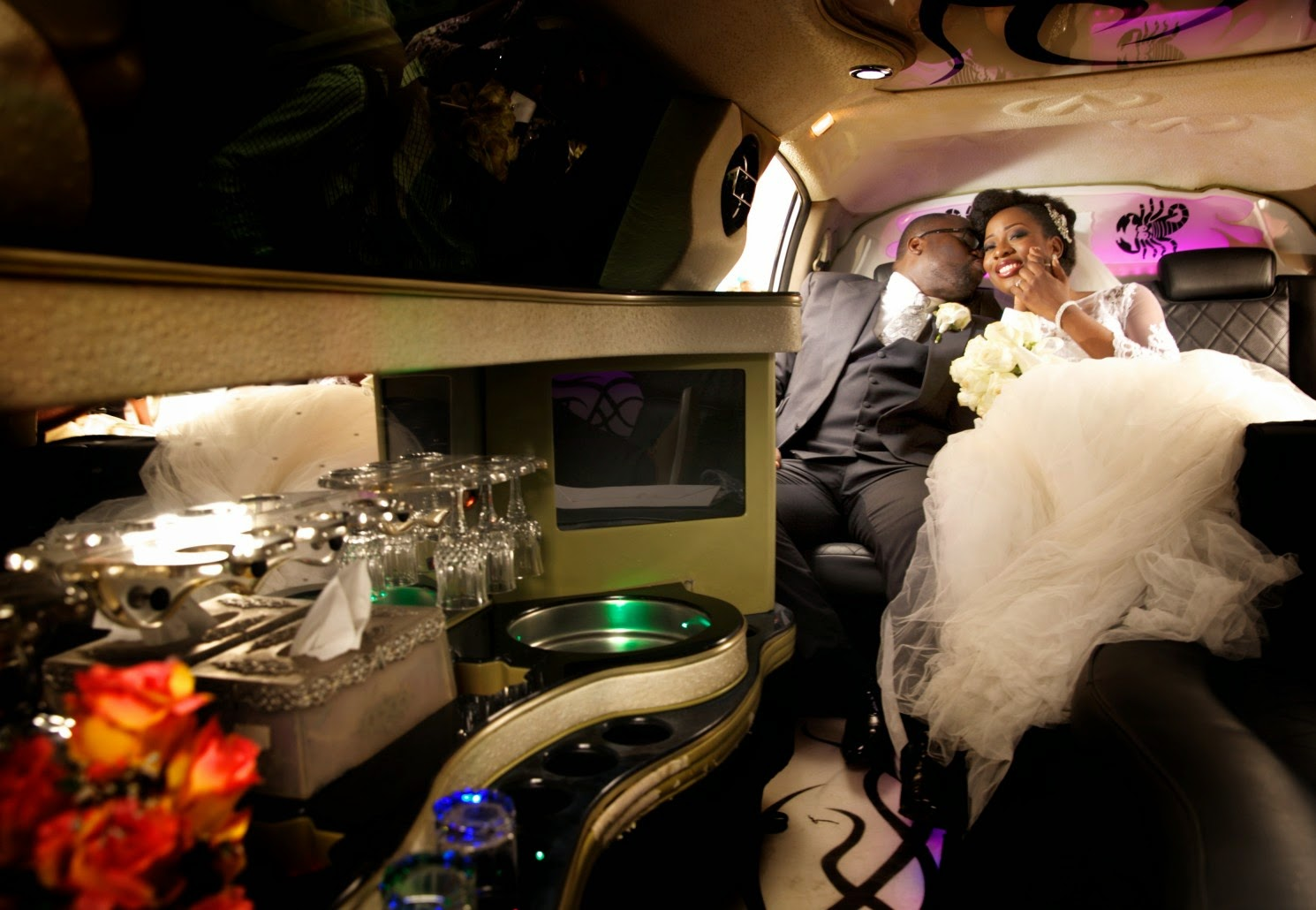 Yomi Odusanya's White Wedding, And MORE From Traditional Wedding