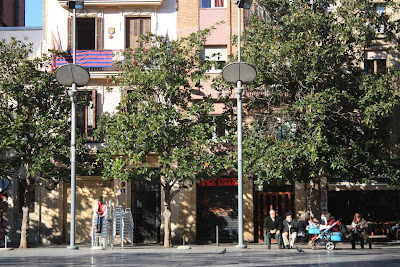 Plaça del Sol is another lovely square in Gràcia