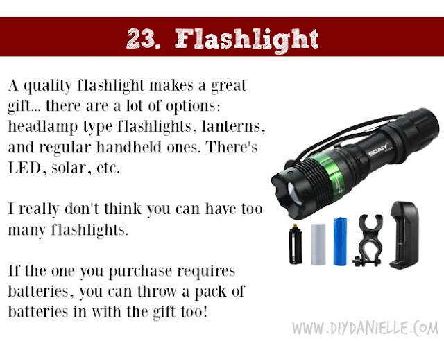 Holiday Gift Idea for Adults: Flashlight