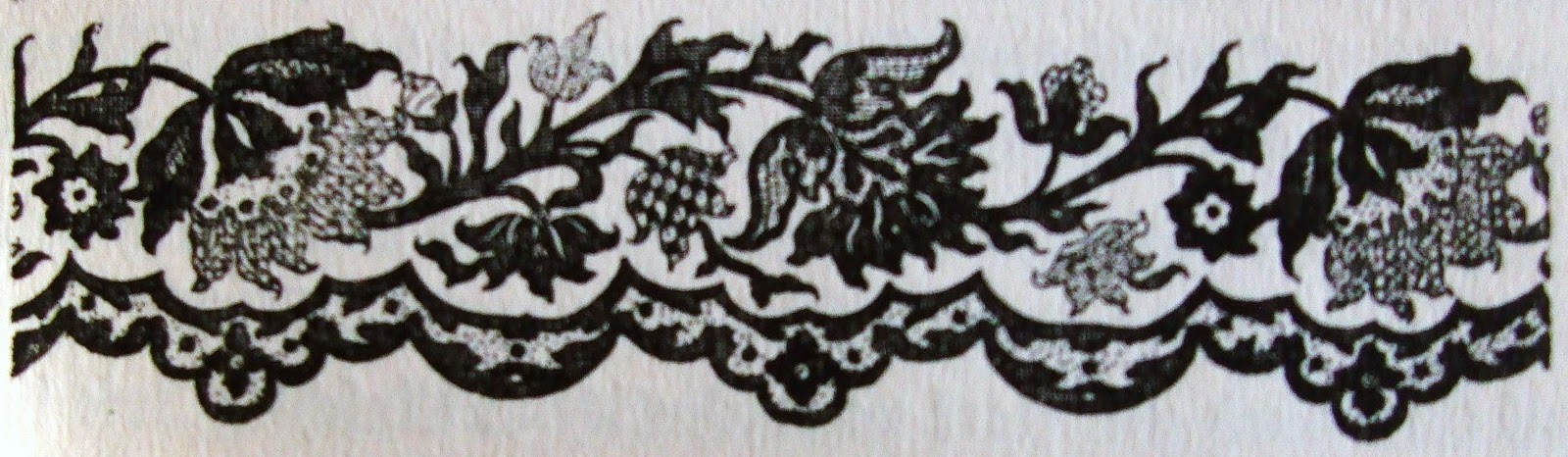 Орнамент 1745 года