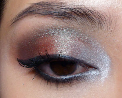 The makeup box 5 days 5 ways mac blue brown pigment for Effet miroir psychologie definition