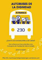 Ven en autobús a Huesca!