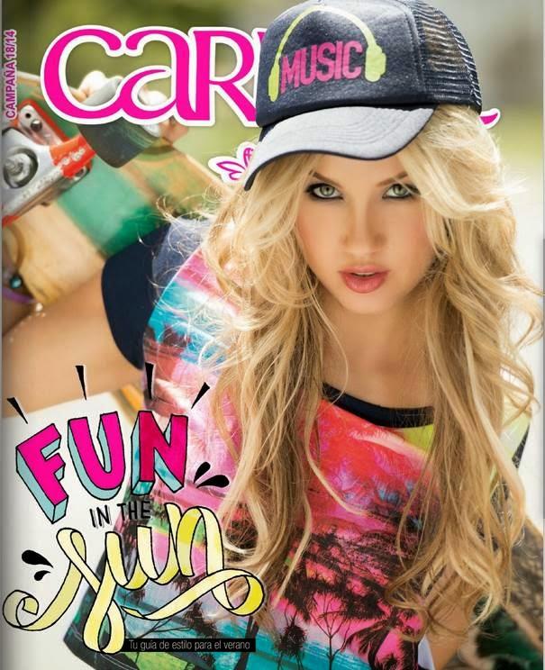 Carmel Campaña 18 2014 Moda para Teens