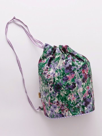 bucket bag a fiori