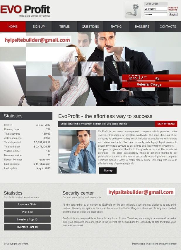 Top hyip sites design