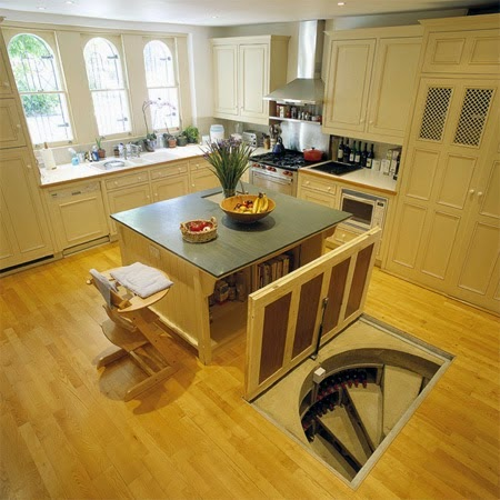 Just check the pictures for more inspiration... - This Guy Put A Secret Window On His Kitchen Floor, For A Brilliant Reason!