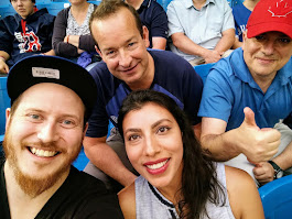 Watching the Yankees & Blue Jays with my Sigma Systems friends