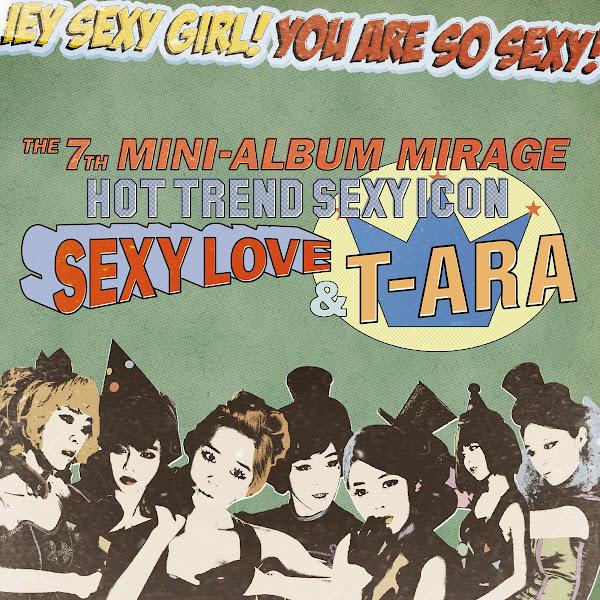 T-ara Mirage cover
